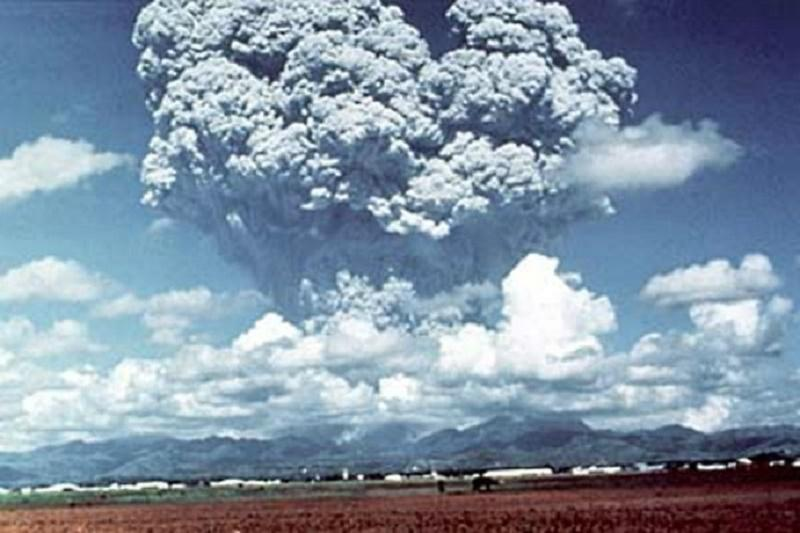 பினட்யூபோ எரிமலை வெடிப்பு