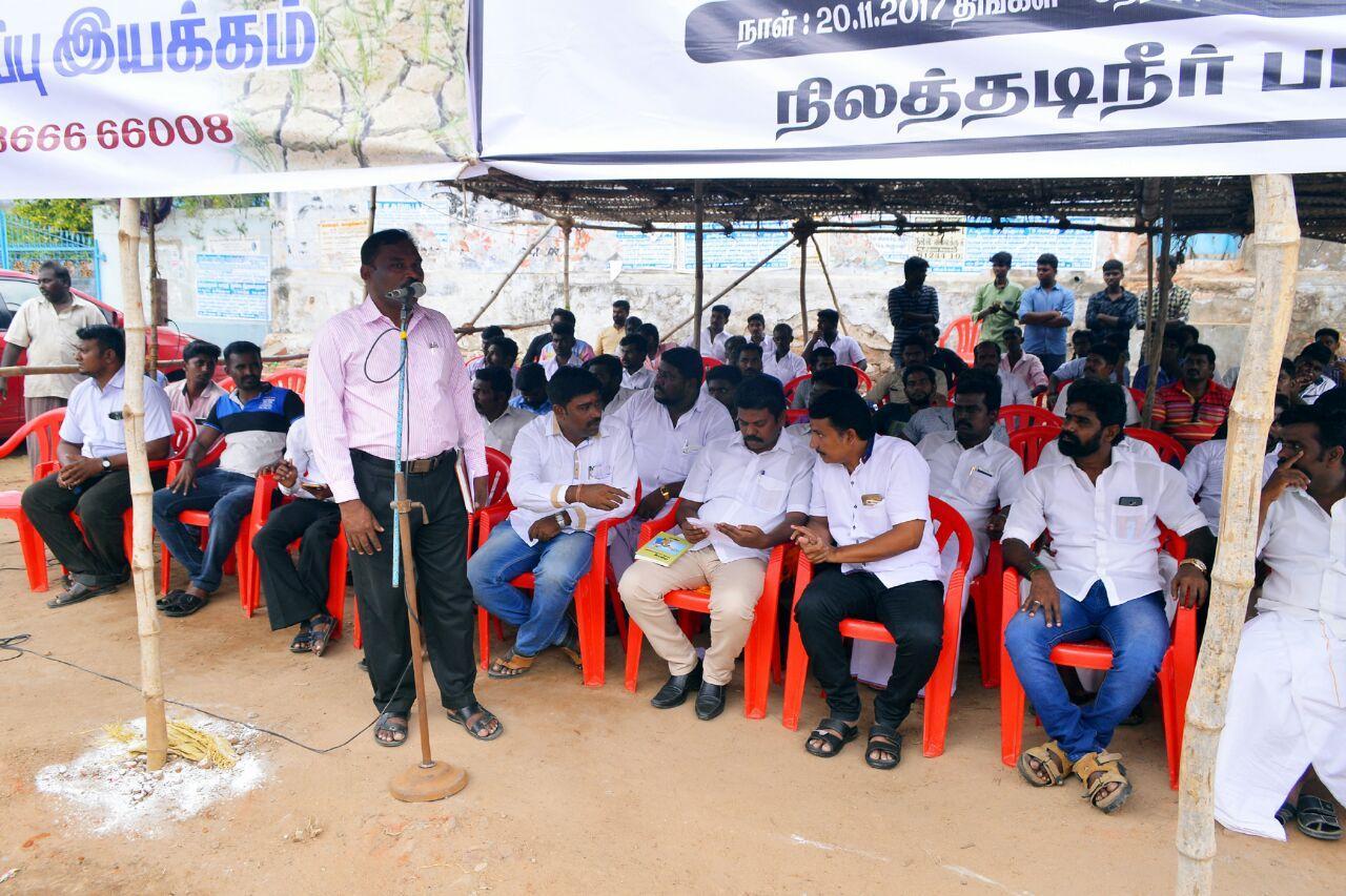 fasting protest in srivaikundam