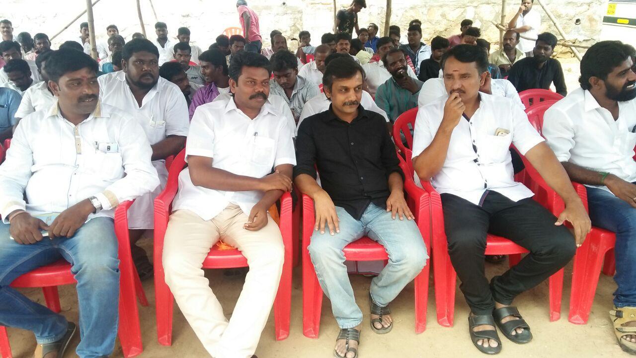 thirumurugan gandhi participated in srivaikundam fasting protest
