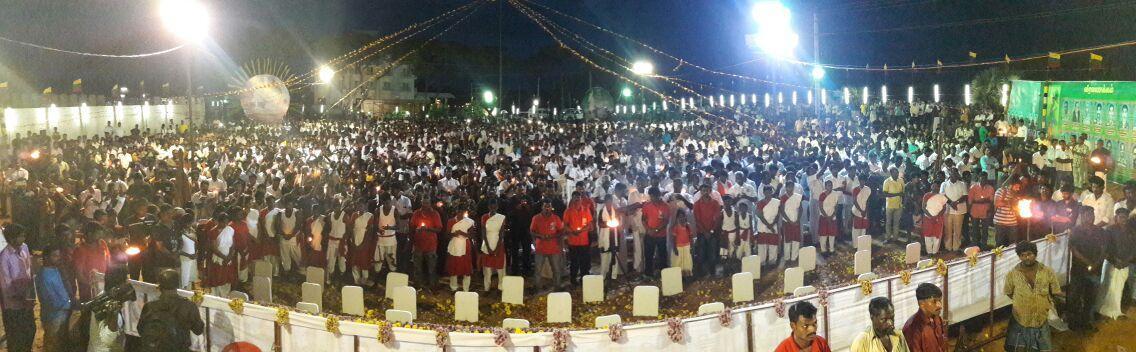 தமிழக வாழ்வுரிமை கட்சி சார்பில் மாவீரர் தின அஞ்சலி கூட்டம்
