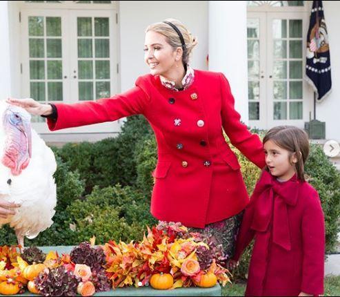 இவான்கா Thanksgiving