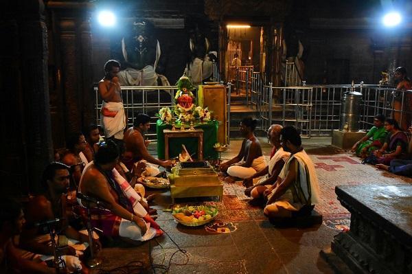 கும்பாபிஷேகம் பணிகள்