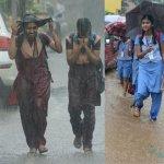 கனமழை எதிரொலி: எந்தெந்த மாவட்ட பள்ளிகளுக்கு விடுமுறை தெரியுமா?