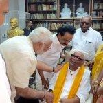 கருணாநிதி - மோடி சந்திப்பின் பின்னணியில் அரசியல் கணக்கு?!