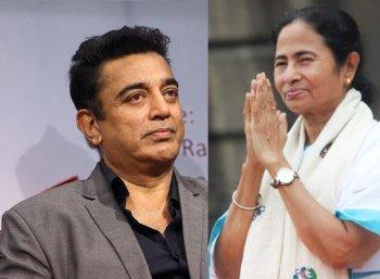 மம்தா பானர்ஜியை சந்திக்க கொல்கத்தா புறப்பட்டார் கமல்ஹாசன்!