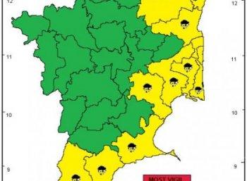 """""""கடலோர மாவட்டங்களுக்கு மீண்டும் கனமழை எச்சரிக்கை!"""" - வானிலை ஆய்வு மையம்  #TNRains"""