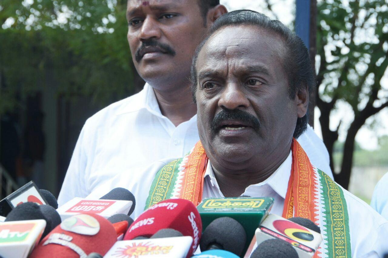 vasanthakumar mla press meet