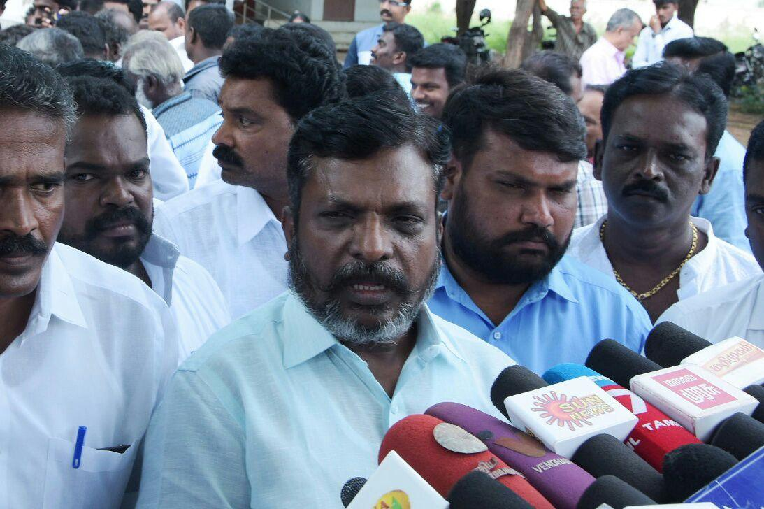 Thirumavalavan prees meet