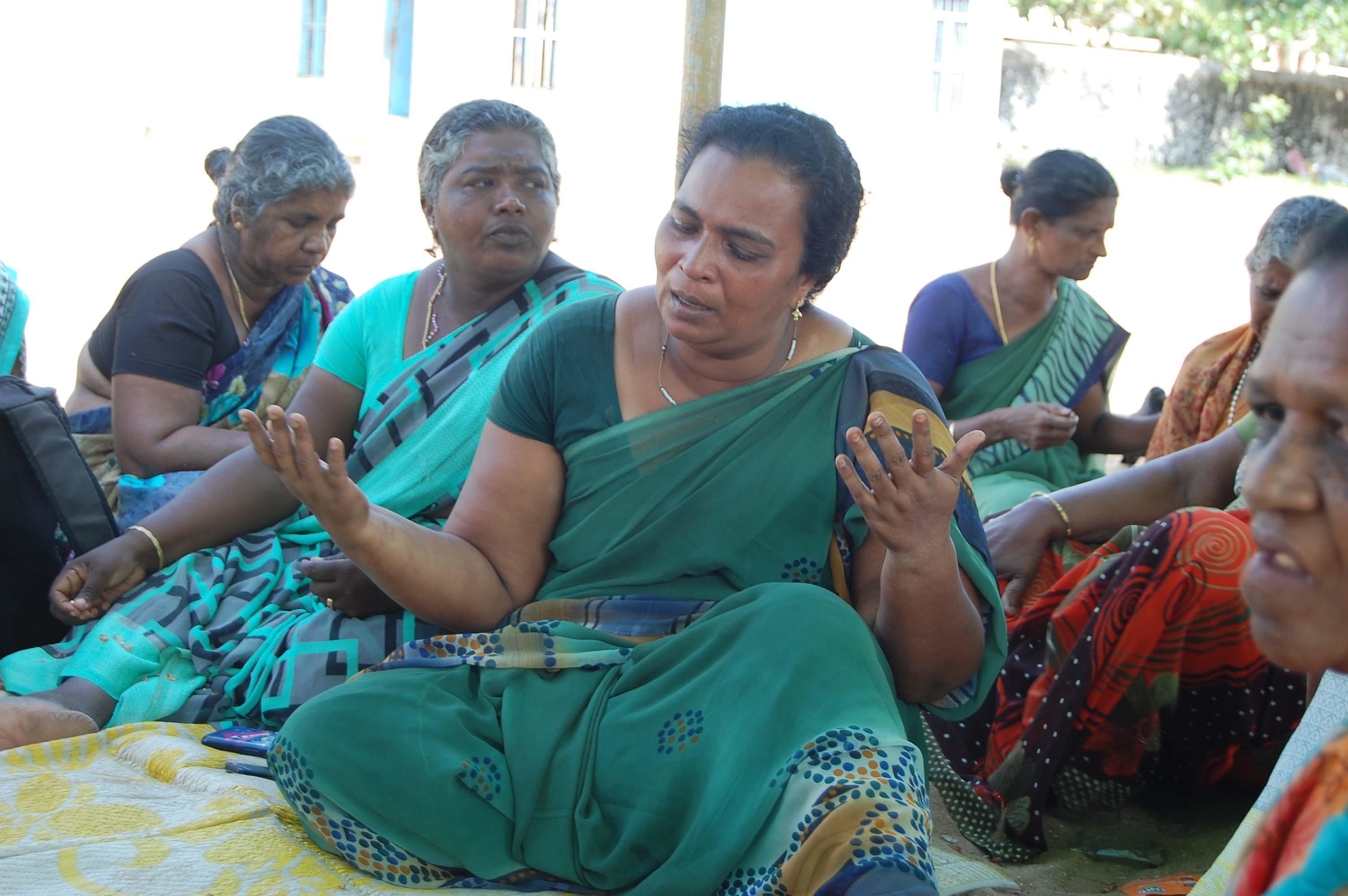 ஷைனி மீனவப் பெண்கள்