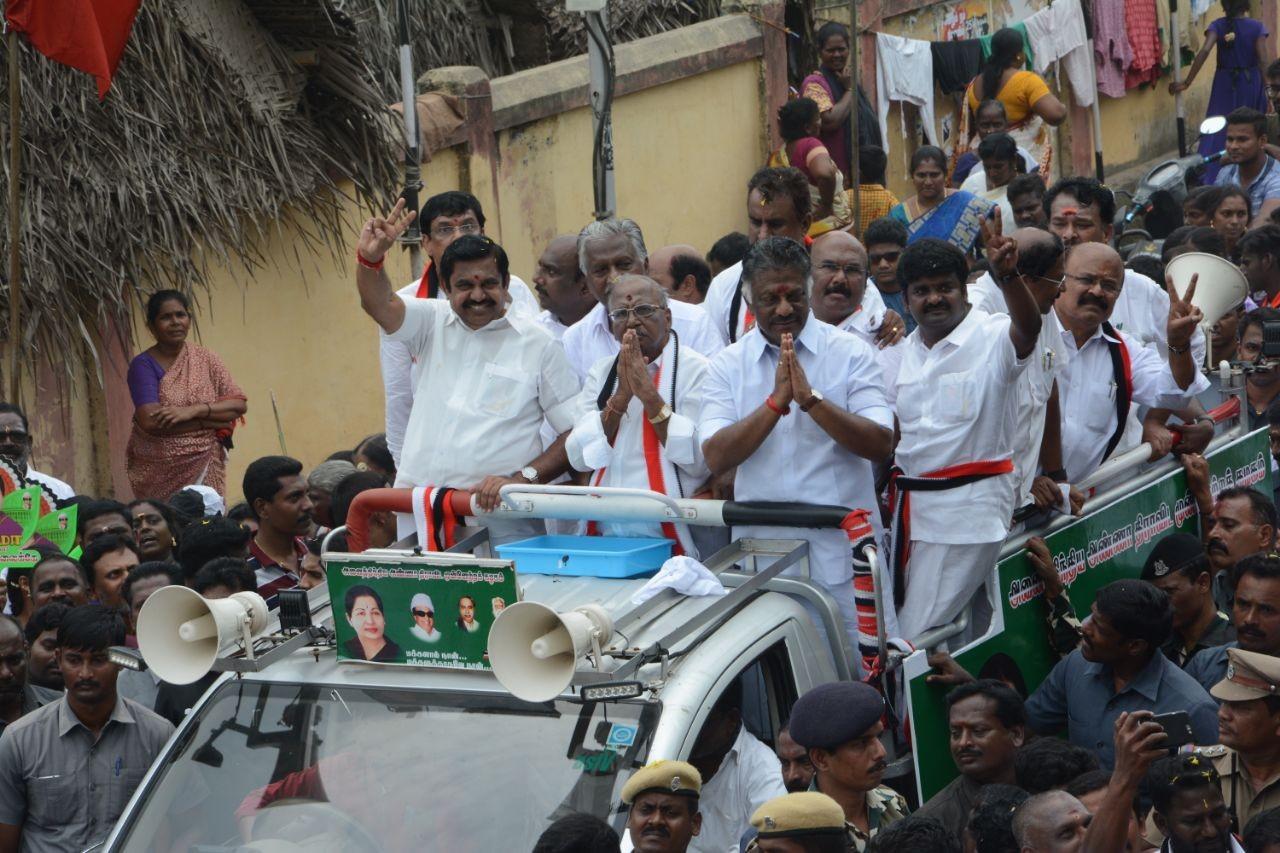 ஆர்.கே.நகர் தேர்தல் பிரசாரத்தில் எடப்பாடி பழனிசாமி