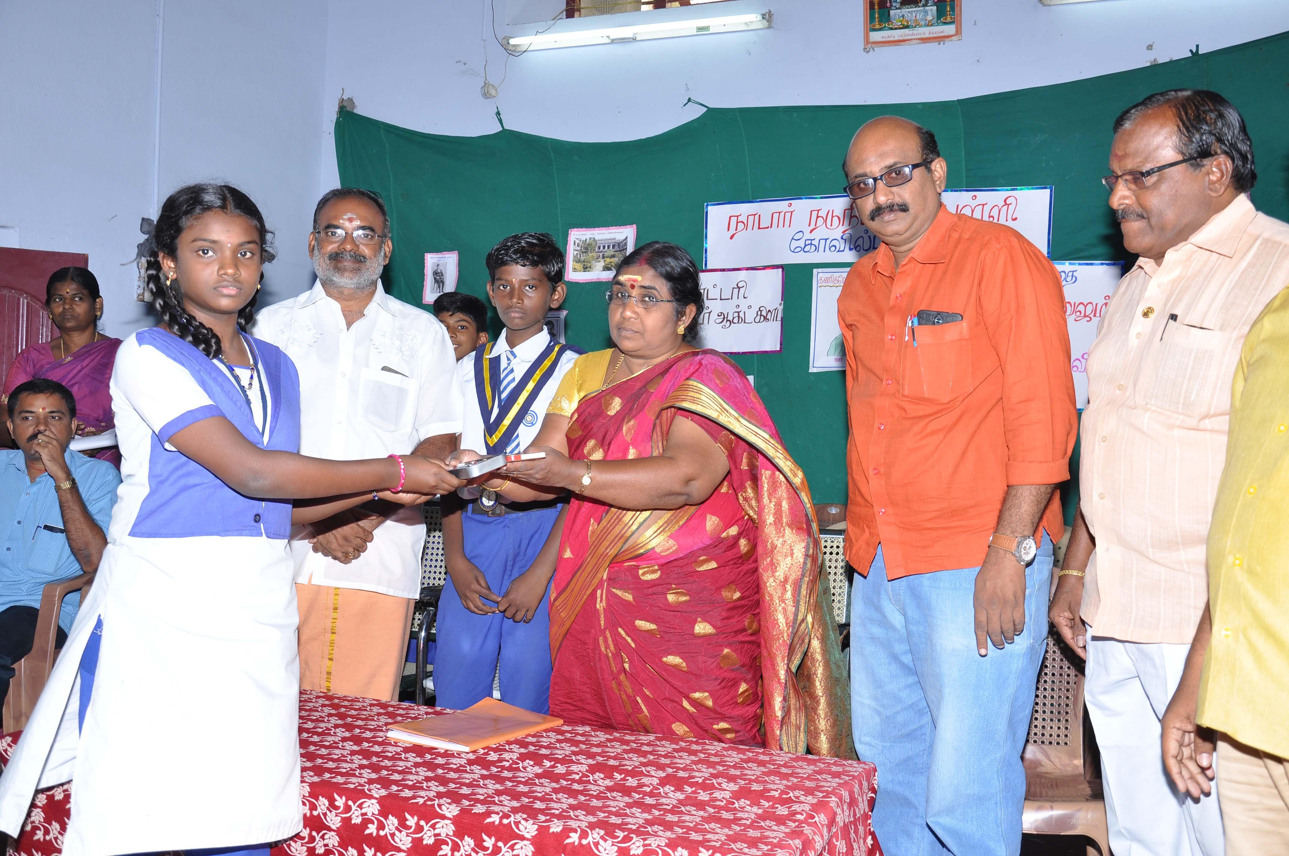 National mathematics day conducted in kovilpatti nadar school