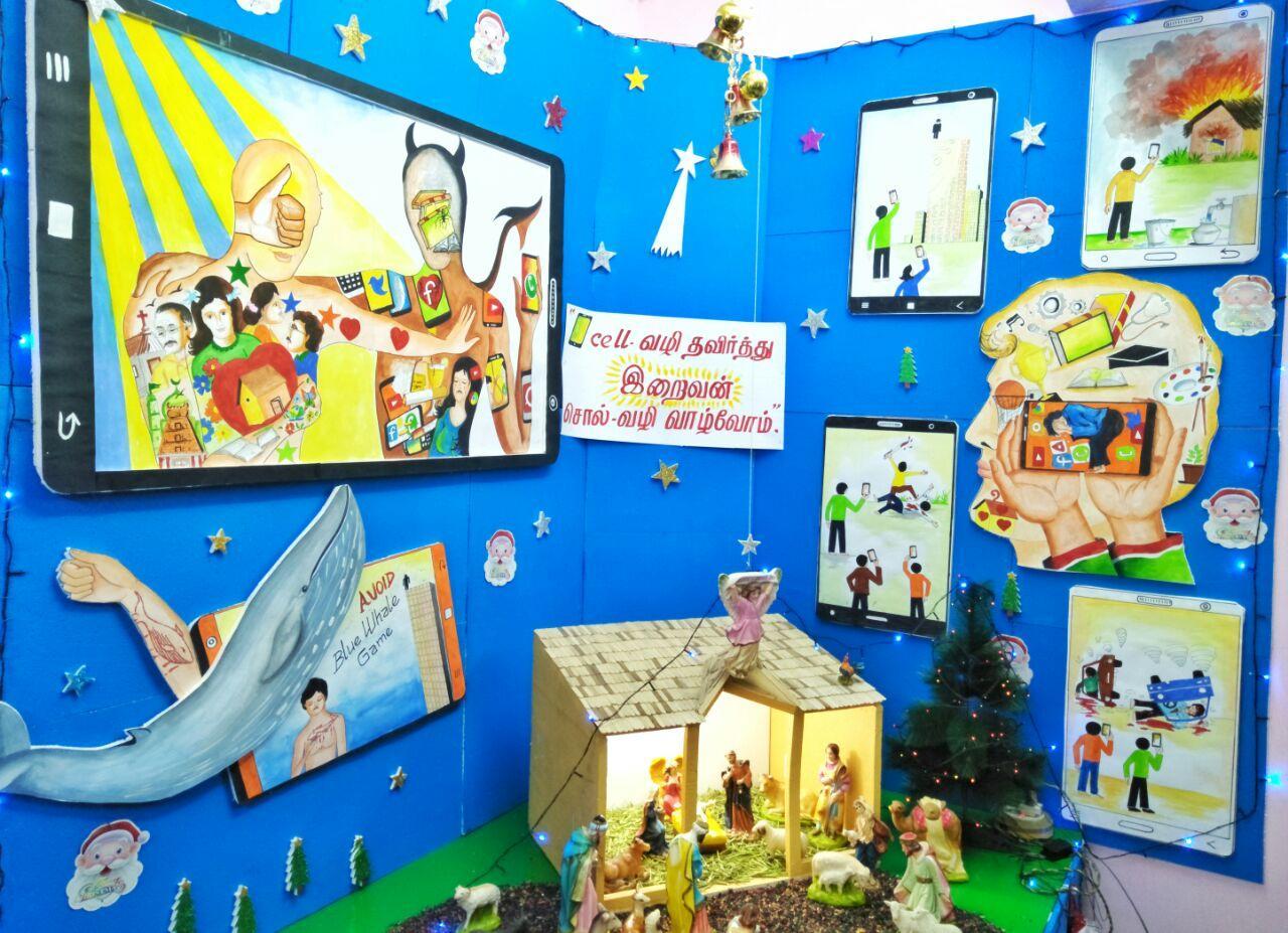 Christmas awareness plant
