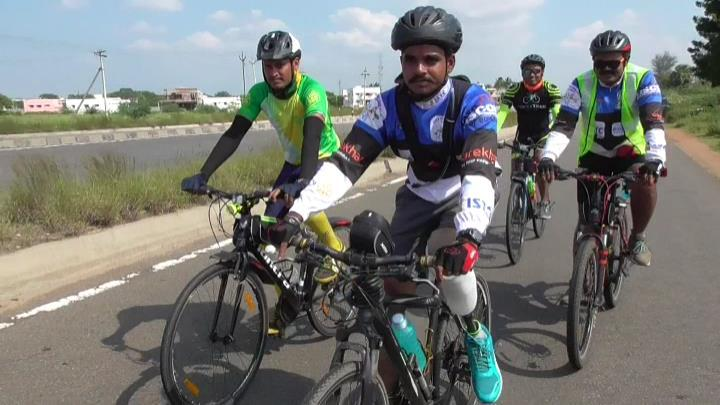 Confidential cycling trip from kanniyakumari to kashmir