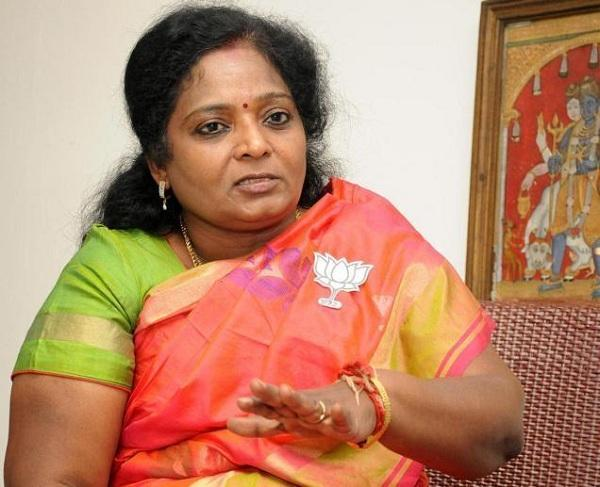 தமிழிசை சவுந்திரராஜன்  bjp