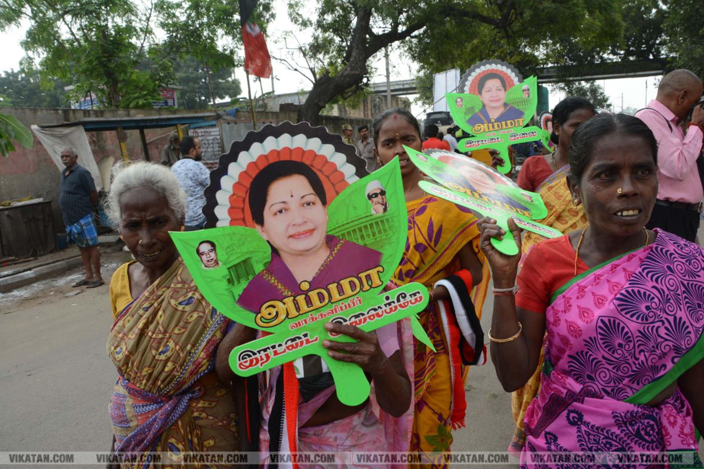 ஆர் கே நகர் அதிமுக