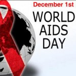 உலக எய்ட்ஸ் தினம் - டிசம்பர் 1 #WorldAidsDay