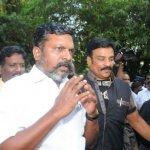 'விஷால் விவகாரத்தில் தேர்தல் அதிகாரி சட்டத்தை மீறியிருக்கிறார்!' - திருமாவளவன் பளீச்