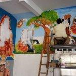 ரயில் நிலையத்தில் வரையப்பட்ட இந்துமத ஓவியங்கள் அழிப்பு… பதற்றத்தில் காஞ்சிபுரம்!