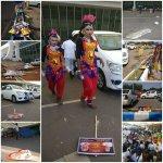 ராசா சென்ற 5 நிமிடத்தில் கோவை விமான நிலையத்தின் நிலை!