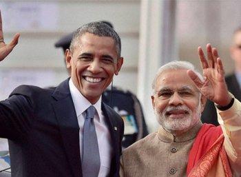 இந்தியா வருகிறார் ஒபாமா: பிரதமர் மோடியுடன் சந்திப்பு