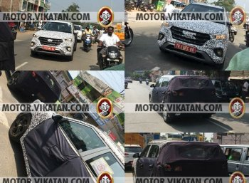 தீவிர டெஸ்டிங்கில் ஹூண்டாய் க்ரெட்டா ஃபேஸ்லிஃப்ட்! #VikatanExclusive #Hyundai