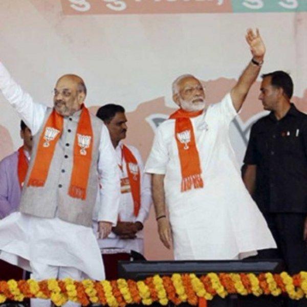 பி.ஜே.பி-யை கலக்கத்தில் ஆழ்த்திய கருத்துக்கணிப்பு! - குஜராத் கள நிலவரம் #GujaratElections2017