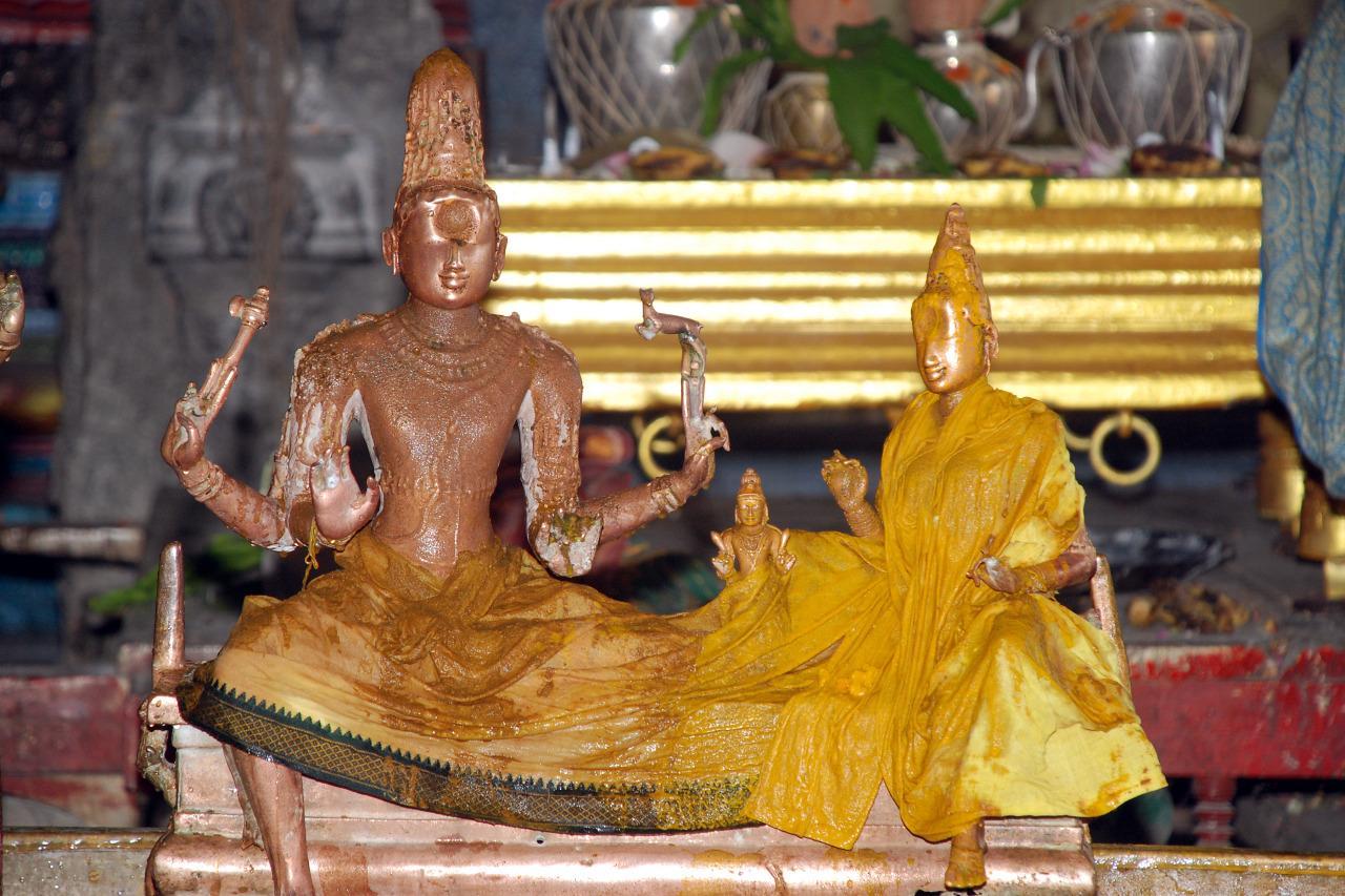 சோமாஸ் கந்தர், ஏகாம்பரநாதர் கோயில் காஞ்சிபுரம்