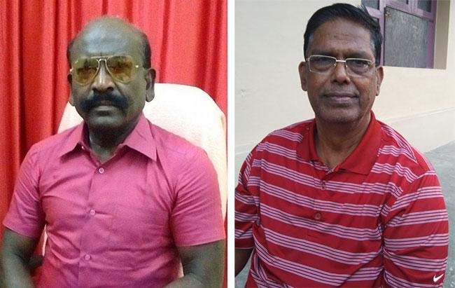 ஓய்வு ஏ.சி.பி., என்.நவீன், ஓய்வு ஏ.டி.சி. கே.ஆர்.விட்டல்ராமன்