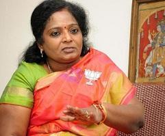தமிழிசை சவுந்தரராஜன்  -பிஜேபி