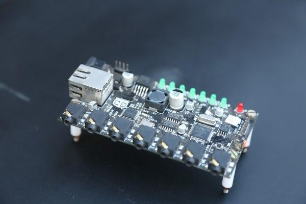 PCB board used fo home automation systems