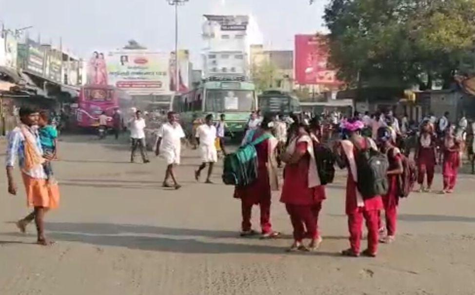 காஞ்சிபுரம் பேருந்து நிலையம்