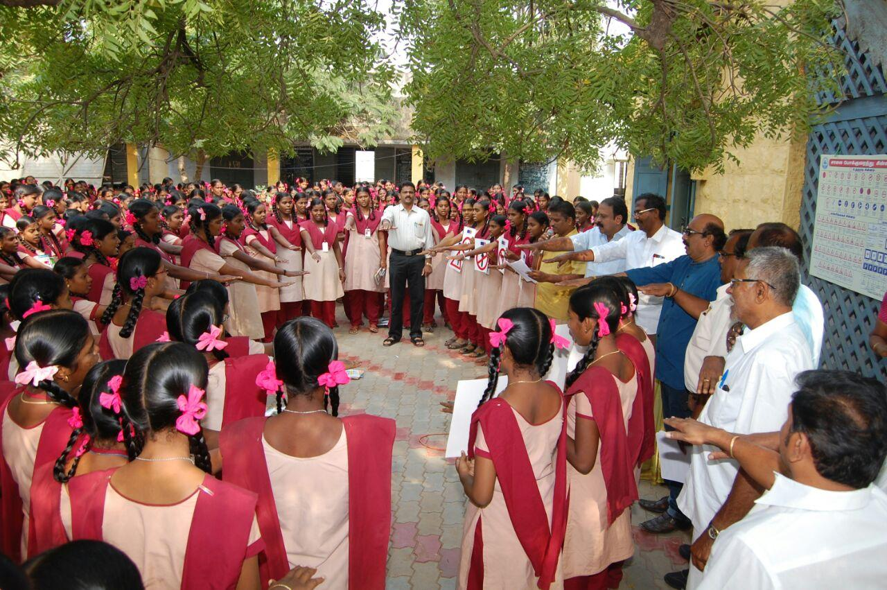 roady safty awareness in kovilpatti