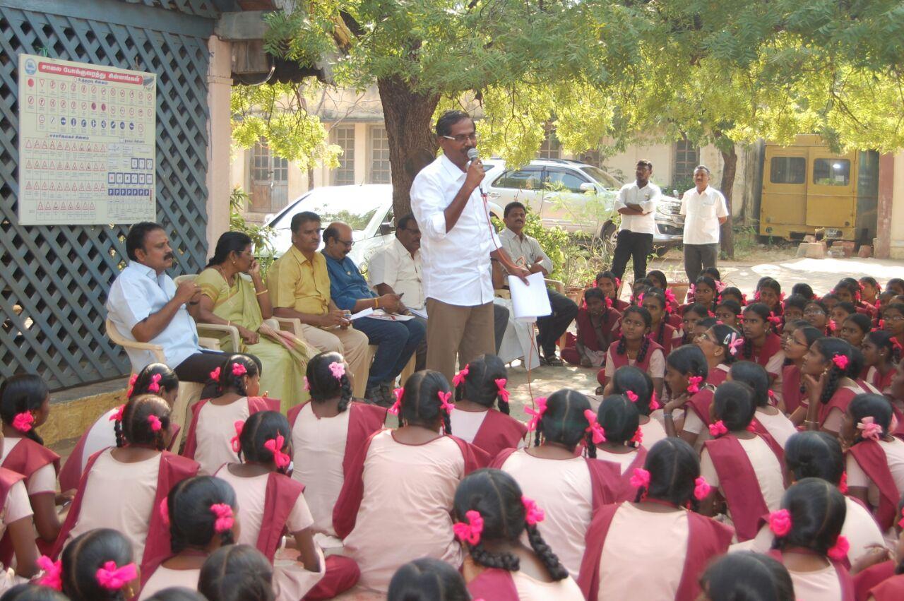 road safty awareness in kovilpatti