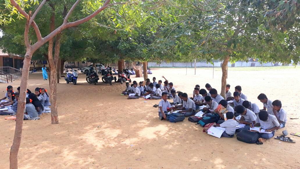 ராமநாதபுரம் மாவட்டம் தினைக்குளம் புதிய பள்ளி கட்டிடம்
