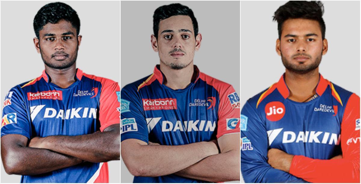 Samson, Dekock, Pant IPL