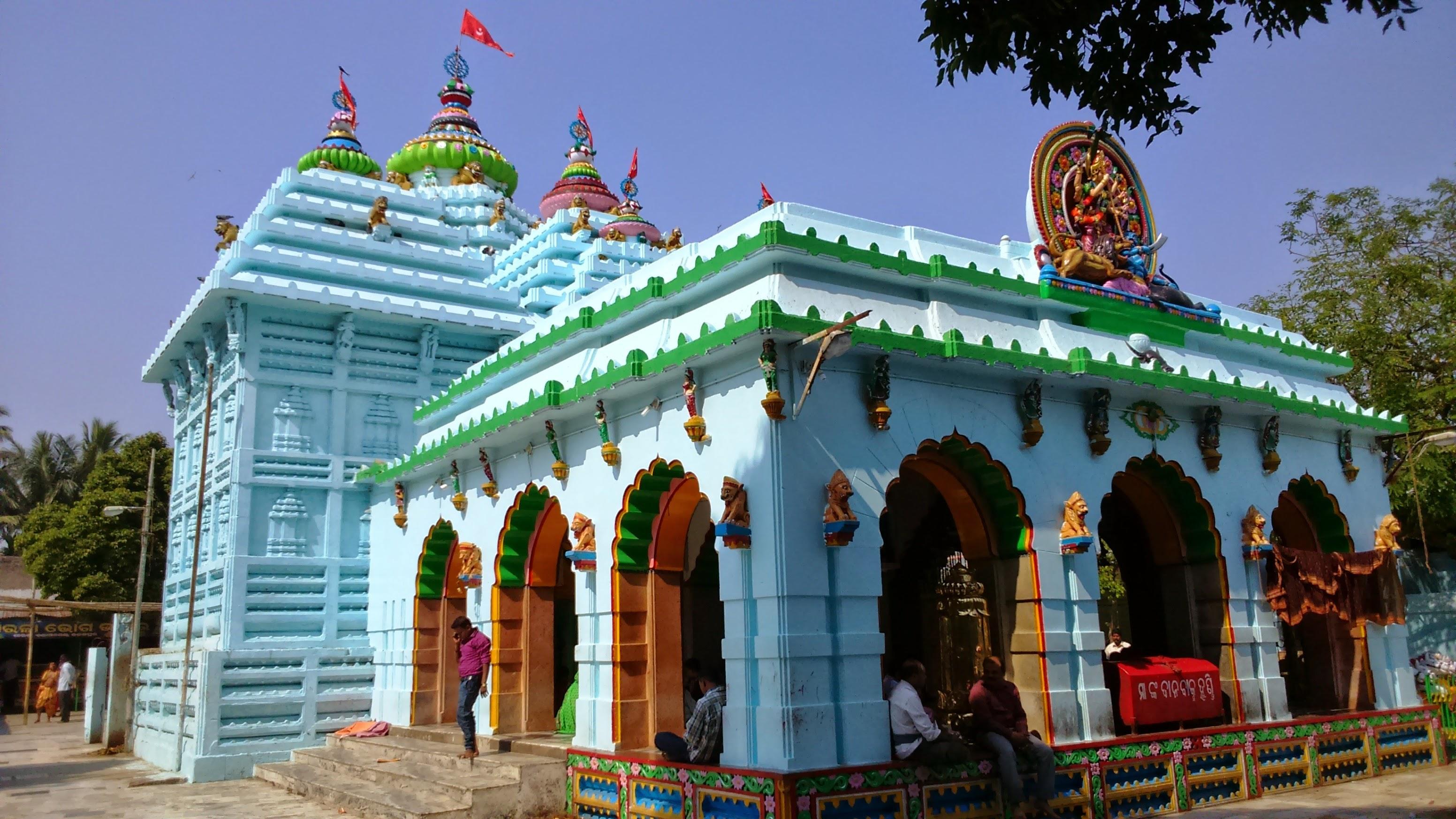 மா சரலா கோயில்