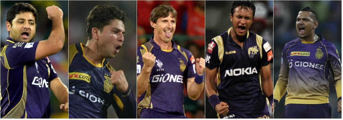 KKR spinners IPL