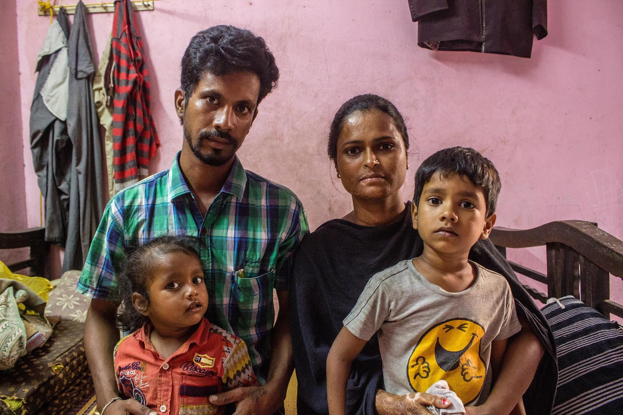 ஜல்லிக்கட்டு - பிரேம் குமார் குடும்பம்