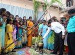 ஆதரவற்ற குழந்தைகளுடன் பொங்கலைக் கொண்டாடி மகிழ்ந்த மாவட்ட ஆட்சியர்!