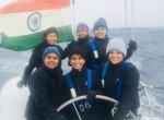7 மீட்டர் உயர அலைகளைச் சமாளித்து, உலகைச் சுற்றும் கடல் ராணிகள்! #IndianNavy