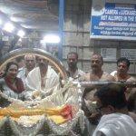 கன்னியாகுமரி பகவதி அம்மனுக்கு 50 கிலோ எடையில் புதிய வெள்ளிப்பல்லக்கு! மகாராஷ்டிர பக்தர் வழங்கினார்