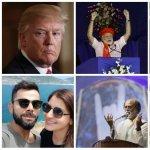 ஹேப்பி மோடி... ஆங்க்ரி ட்ரம்ப்... வாவ் சச்சின்... பிரபலங்களின் 2018 ட்விட் ரீயாக்ஷன்