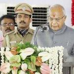 'அமித்ஷாவின் மகன் ஊழலைப் பேசுவாரா கவர்னர்?' கேள்வி எழுப்பும் அரசியல்வாதிகள்