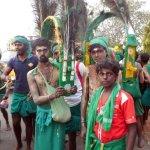திருச்செந்தூரில் குவிந்த பாதயாத்திரை பக்தர்கள்!