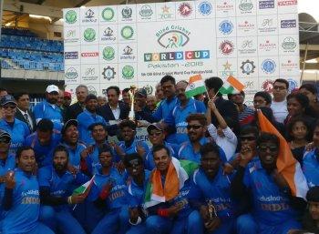 பாகிஸ்தானை வீழ்த்தி இரண்டாவது முறையாக உலகக் கோப்பையை வென்ற இந்திய அணி!