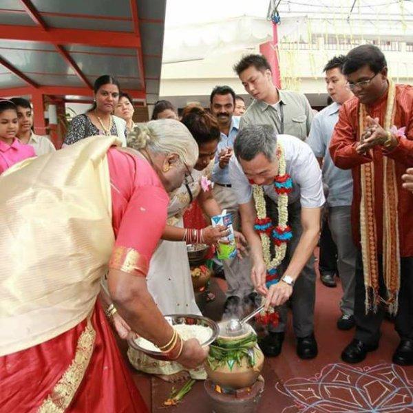 'பொங்கலோ பொங்கல்!' - சிங்கப்பூர் பிரதமரின் அசத்தல் வாழ்த்து