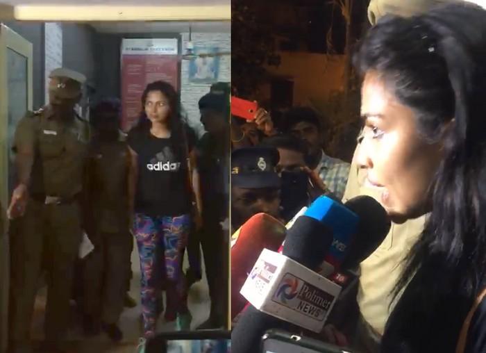 நடிகை அமலாபால்