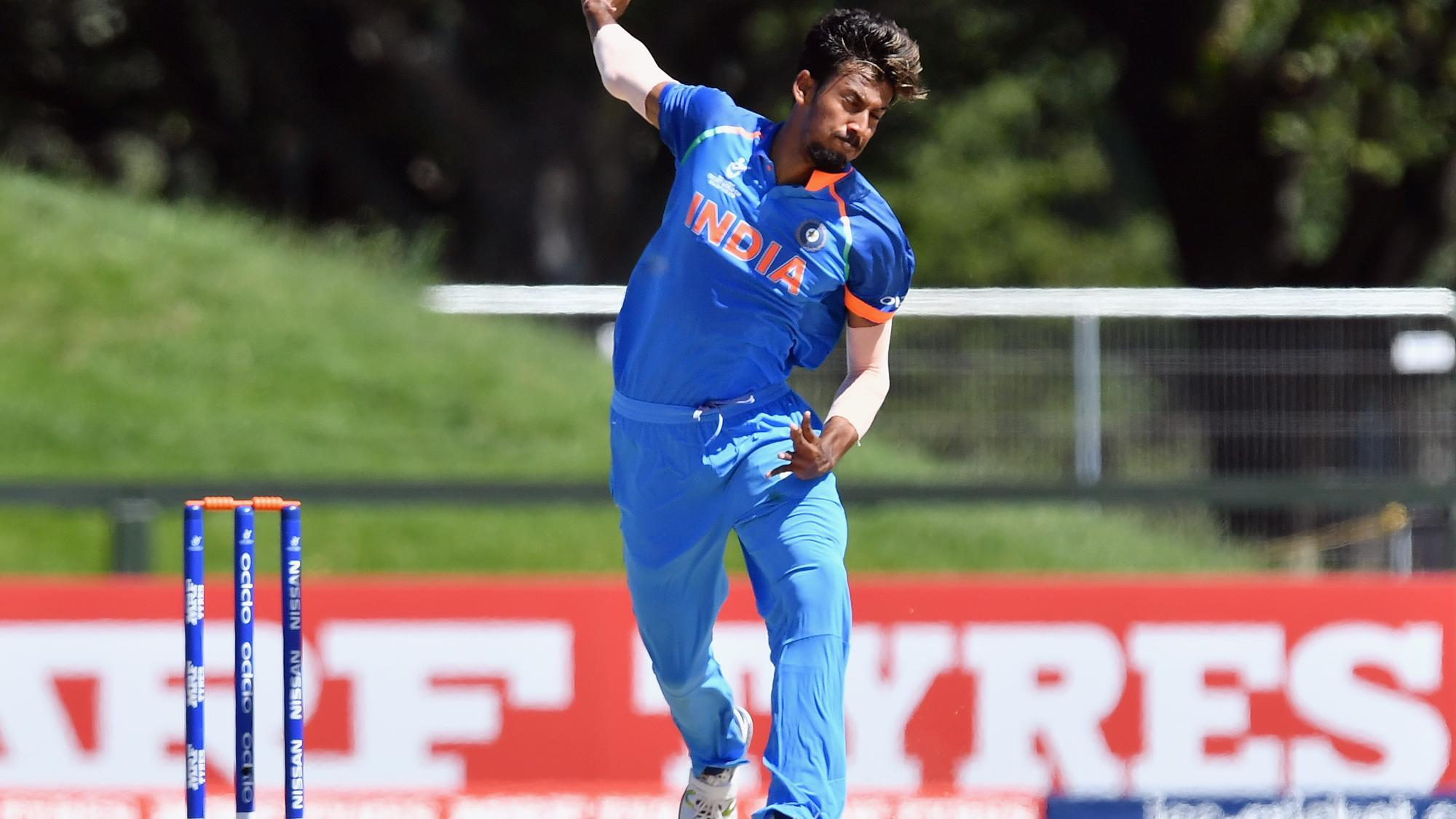 #under19worldcup - Ishan Porel