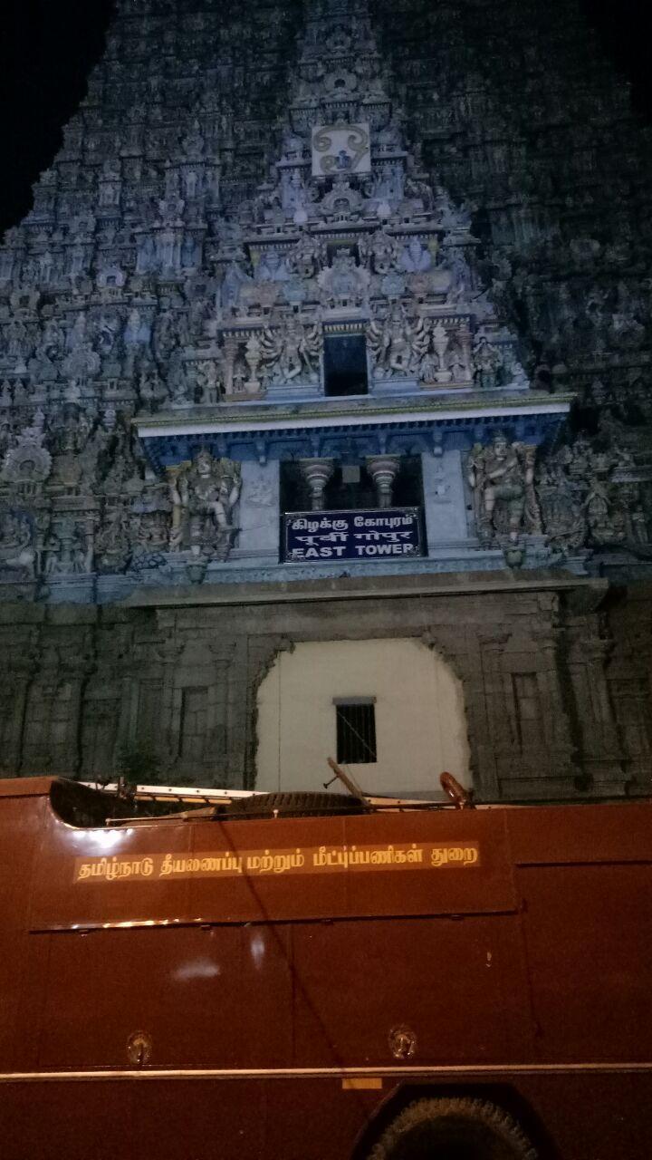 கோயில் தீ விபத்து