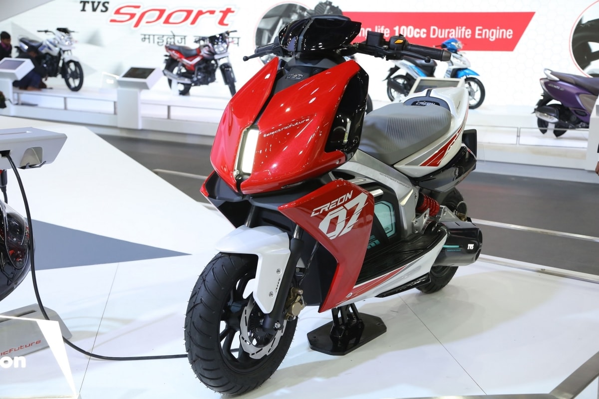 TVS CREON Scooty
